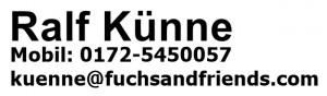 kontakt - kuenne@fuchs